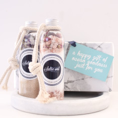 Duo Gift Set - Summer Skin Repair And Body Detox Mineral Bath Soaks