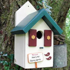 Handcrafted Forest Lodge Bird House