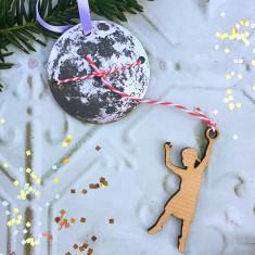 Lasso The Moon Christmas Decoration