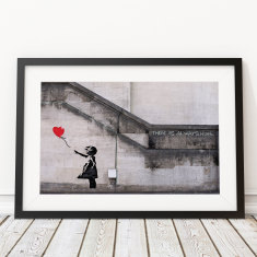 There Is Always Hope by Banksy Art Print