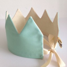 Kids' cotton crown