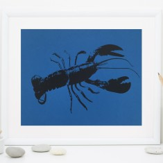 Blue Lobster Fine Art Print