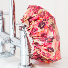 Shower Cap in Pink Firenze print