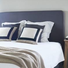 Charcoal Linen bedhead