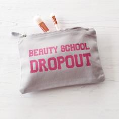 Beauty school dropout makeup bag