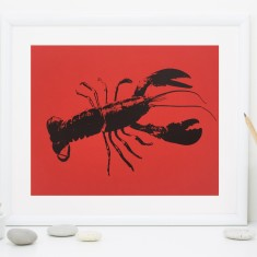 Red Lobster Fine Art Print