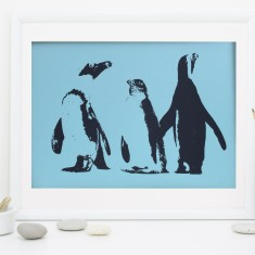 Penguin Dream Fine Art Print