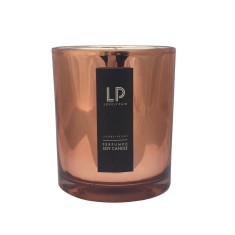 Lychee + Peony copper soy candle