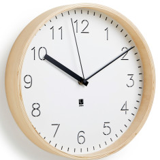 Umbra Rimwood wooden wall clock
