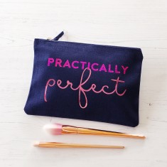 Practically perfect makeup bag