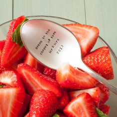 Personalised Table Spoon