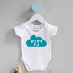 In Your Own Words Personalised Cloud Babygrow