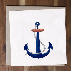 Ships Anchor Card