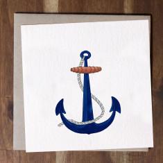 Ships Anchor Card