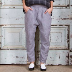 Emerson Harem Pant in Slate
