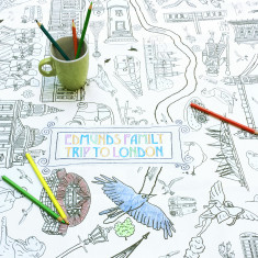 Personalised Colour in London tablecloth