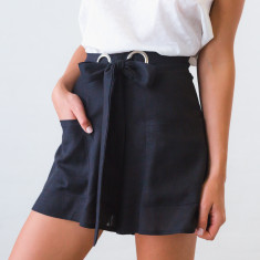 Finley high-waisted shorts