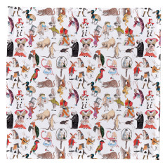 Alice in Wonderland Handkerchief & Pocket Square