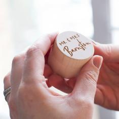 Couple's Wedding Day Ring Box