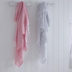 Brighton Stripe Turkish Hammam Towel