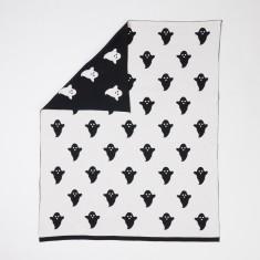 Woouf Blanket - Ghost In Black/White