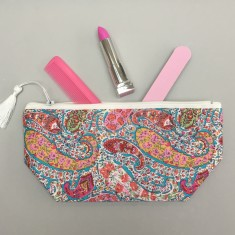 Bourton Liberty print makeup bag