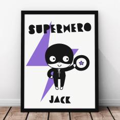 Personalised Superboy Kids' Print