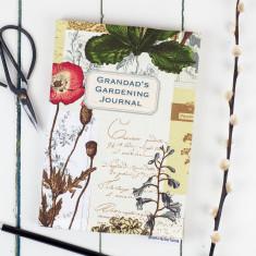 Personalised Gardening Journal