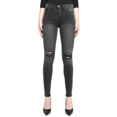 Isabel Jeans In Washed Black