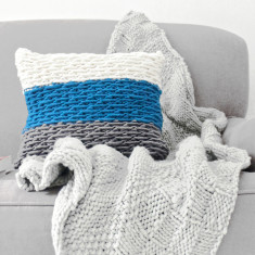 Staman Stitch Cushion Cover Knitting Kit