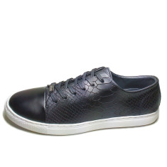 Urban range leather python men's shoes
