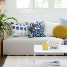 Santorini Shores Cushion Cover