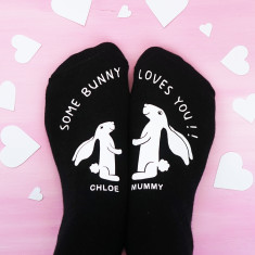 Personalised Some Bunny Loves You Socks