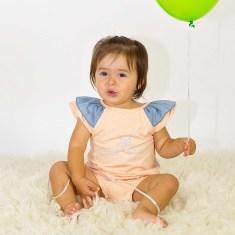 Girls' Little Star romper suit