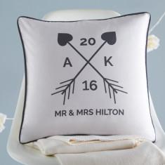 Personalised Wedding Cushion Cover