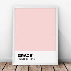 Personalised Swatch Colour Print