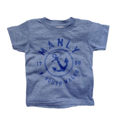 Kids' Manly anchor unisex t-shirt
