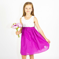 Girls' little hearts dress