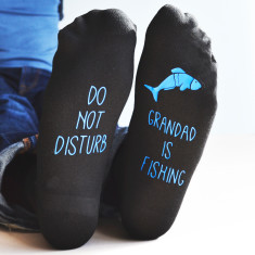 Do Not Disturb, Personalised Fishing Socks