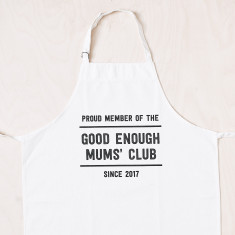 Personalised Good Enough Mums' Club apron