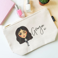 Personalised Character Makeup Pouch