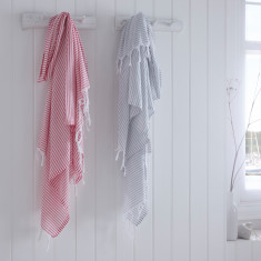 Brighton Stripe Turkish Hammam Towel