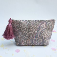 Liberty Print Felix and Isabelle Zip Pouch