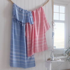 Extra Large All Aboard Turkish Hammam Towel