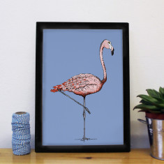 Margo Flamingo Print