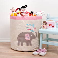 Elephant storage hamper