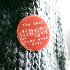 Best ginger badge