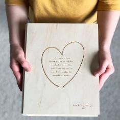 Mothers Day Card And Keepsake Box
