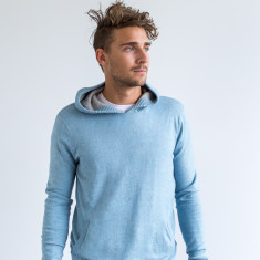 Ronaldo Pullover Performance Hoodie In Baby Blue