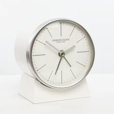 London Clock Company Skarp silent alarm mantel clock